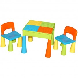 Masuta Guliver cu 2 scaune Tega Baby