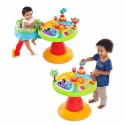 Bright Starts - 60368 Centru de activitati 3-in-1 Around We Go Zippity Zoo