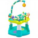 Centru de activitati rotativ si bouncer Toyz TROPICAL Blue