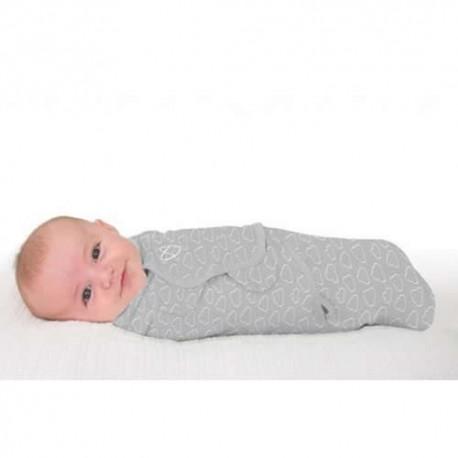 Summer Infant - 57856 Sistem de infasare pentru bebelusi Cute Clouds 0-3 luni