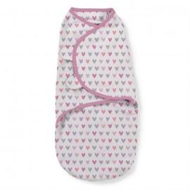 Summer Infant - 55656 Sistem de infasare pentru bebelusi I heart you 0-3 luni
