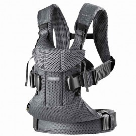 BabyBjorn - Marsupiu anatomic One Air - Anthracite 3D Mesh