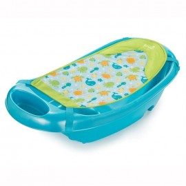 Set cadita si suport de baita Splish n Splash Blue Summer Infant 194396