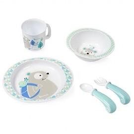 Set hranire bebelusi Blue Beaver Badabulle B005506