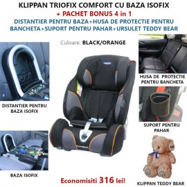 Klippan TRIOFIX COMFORT 9-36 Kg 5 in 1 Special Pack