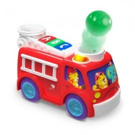 Jucarie muzicala cu lumini Roll Pop Fire Truck Bright Starts