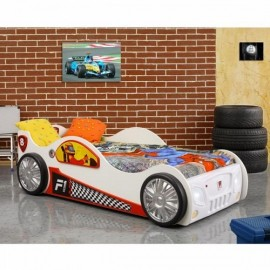 Patut in forma de masina Monza Plastiko