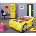 Pat Sleep Car cu Dulap Petrol Station Plastiko