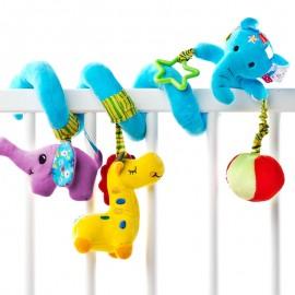 Spirala cu jucarii pentru carucior si patut Sensillo Elephant
