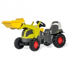 Buldozer cu pedale si cupa Rolly Toys RollyKid Elios CLAAS 230