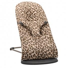 BabyBjorn - Balansoar Bliss Beige Leopard Bumbac