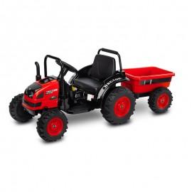 Tractor electric cu remorca si telecomanda Toyz HECTOR 12V