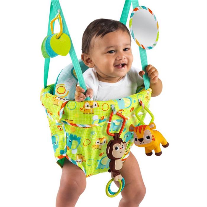 10837 Bright Starts Jumper Deluxe Smiling Safari
