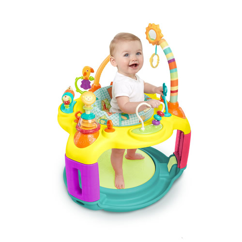 Centru de activitati Springin Safari Bounce-A-Round Bright Start
