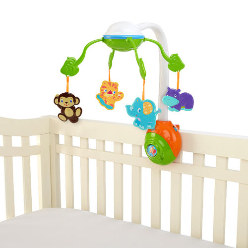 Carusel Bright Starts™ Soothing Safari 2 in 1 Mobile 8352