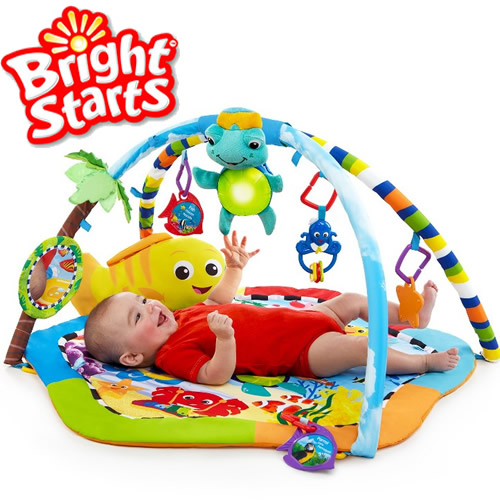 Baby Einstein - Salteluta joaca Experienta in Recif Bright Start
