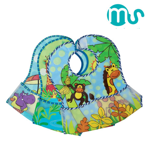 Set 3 bavete din Pvc Jungle Innovaciones Ms