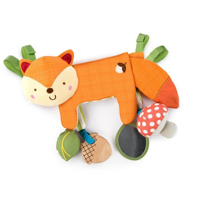 Bright Starts - 11074 - Jucarie multifunctionala 2 in 1 Foxy For