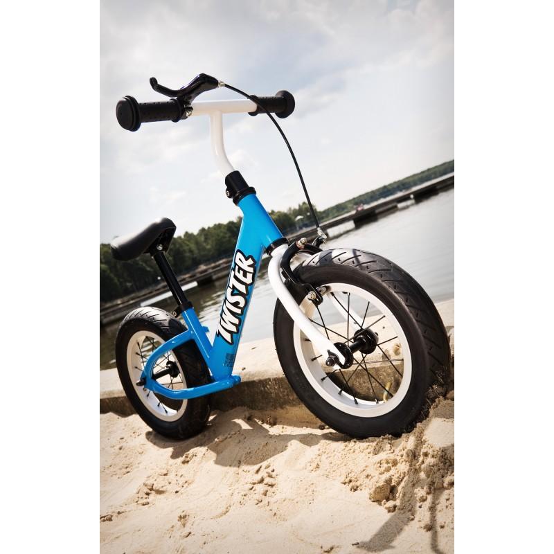 Bicicleta fara pedale cu roti gonflabile Twister Toyz by Caretero
