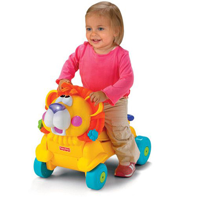 Antepremergator 2 in 1 Fisher Price Stride to Ride Lion