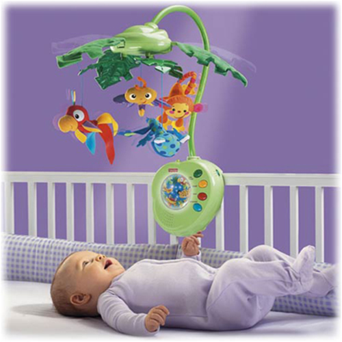 Carusel Fisher Price Rainforest Peek-a-Boo Leaves