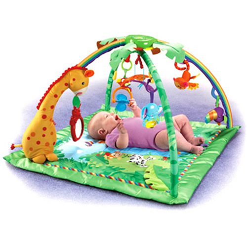 Salteluta joaca Fisher Price Rainforest Melodies & Lights Deluxe