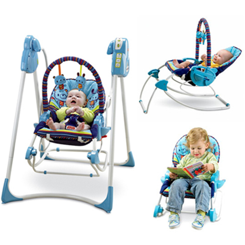 Leagan Fisher-Price 3 in 1 Swing 'n Rocker