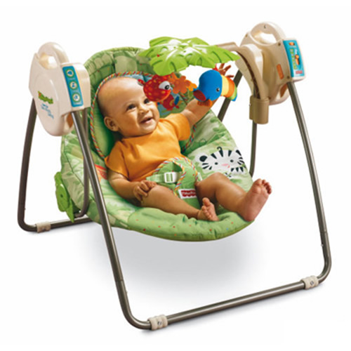 Leagan Fisher Price Open Top Rainforest