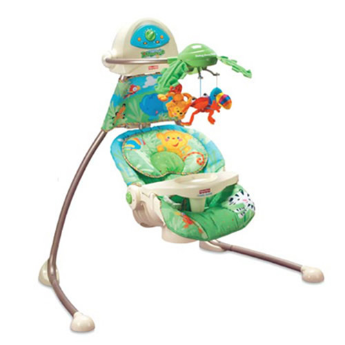 Leagan Fisher Price Rainforest Open Top Cradle