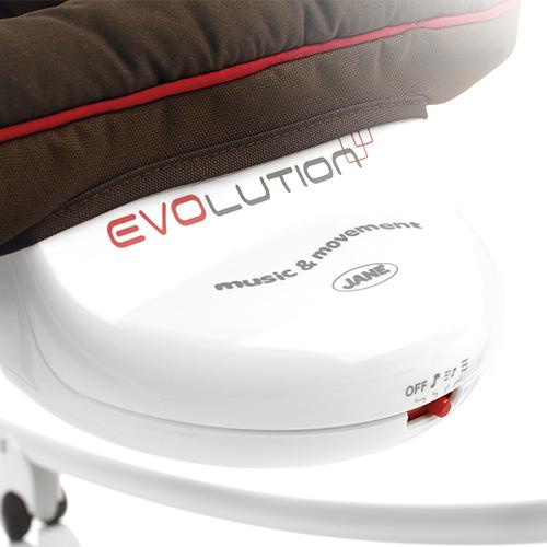 Balansoar cu vibratii si melodii Jane Evolution