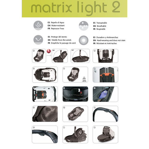 Carucior Jane Rider Reverse Matrix Light