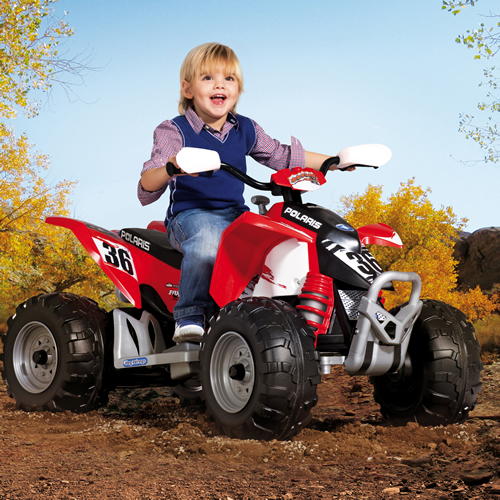 ATV 12V Polaris OUTLAW Peg Perego