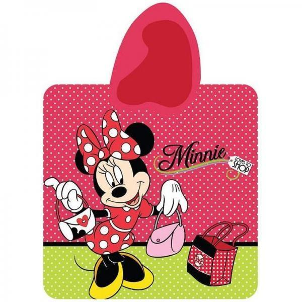 Poncho baie Minnie Mouse 60x120 STC03PT