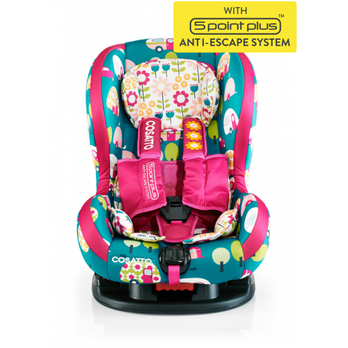 Scaun auto Cosatto Moova 9-18 kg HAPPY CAMPERS (5 P PLUS)
