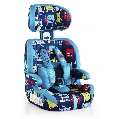 Scaun auto 9-36 kg Cosatto Zoomi 123 CUDDLE MONSTER (5 PLUS)
