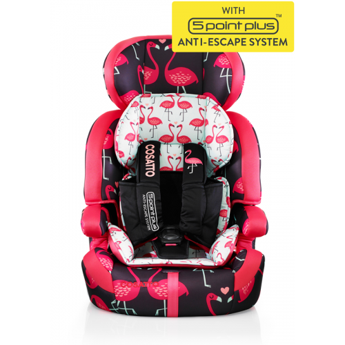 Scaun auto 9-36 kg Cosatto Zoomi 123 FLAMINGO FLING (5 PLUS)
