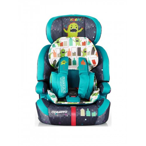 Scaun auto 9-36 kg Cosatto Zoomi 123 MONSTER ARCADE (5 PLUS)