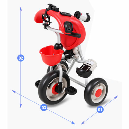 Tricicleta pliabila Skutt PLIKA