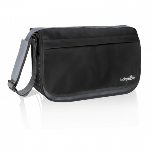 Geanta multifunctionala Messenger Black Babymoov A043546