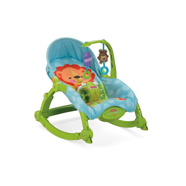Balansoar 2 in 1 Fisher Price Deluxe Precious Planet