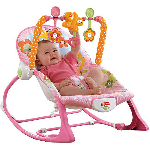 Balansoar 2 in 1 Infant to Toddler Pink Fisher Price Y8184