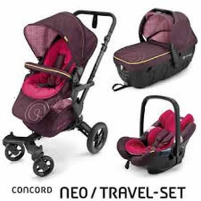 Carucior Concord Neo Travel Sleeper Set