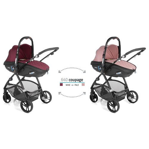 Carucior sistem 3 in 1 Be Cool by Jane Slide Twice