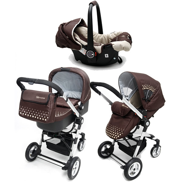 Carucior 3 in 1 Kraft KinderKraft