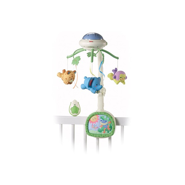 Carusel cu proiector Fisher Price Rainforest