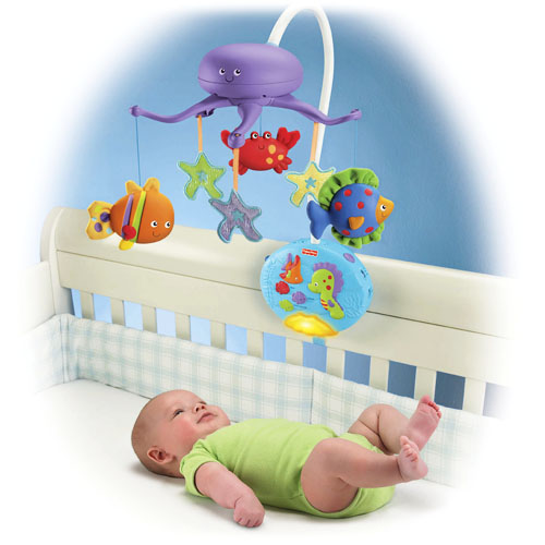 Carusel Fisher Price Ocean Wonders Deep Blue Sea Deluxe
