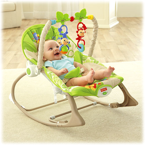 Balansoar 2 in 1 Infant to Toddler Rainforest Friends Fisher-Pri