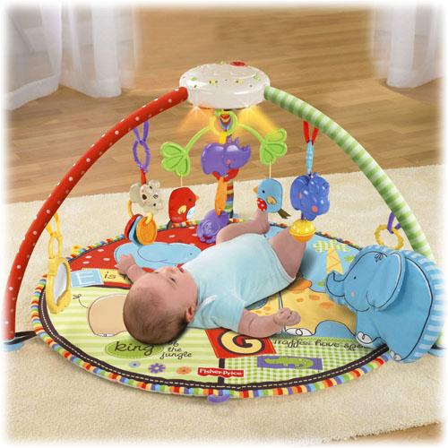 Centru joaca Fisher Price Love u Zoo Deluxe Musical Mobile