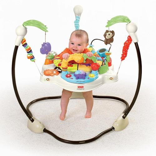 Centru activitati Fisher Price Baby Zoo Jumperoo