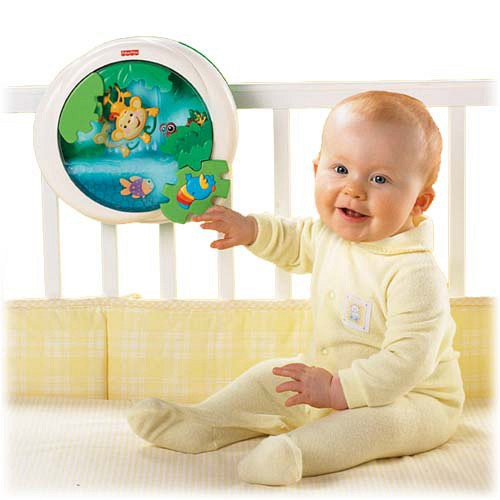 Lampa muzicala Jungle Fisher Price